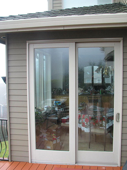 Patio Door Before