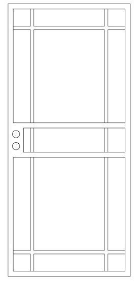 Craftsman Series Doors-CS-1