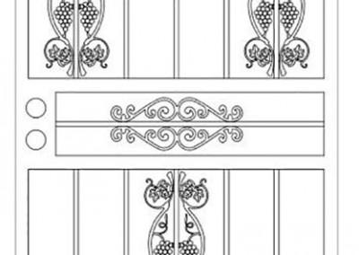 Doors Grape Combo