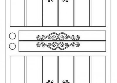 Doors Oak Single