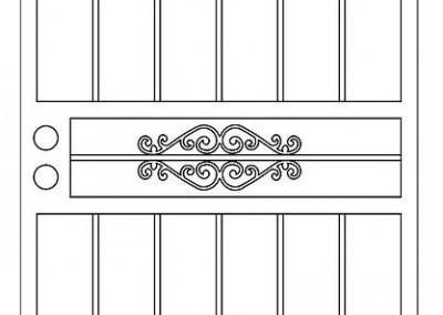 Doors Roman Single