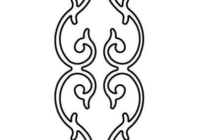 Heart 39 Scroll