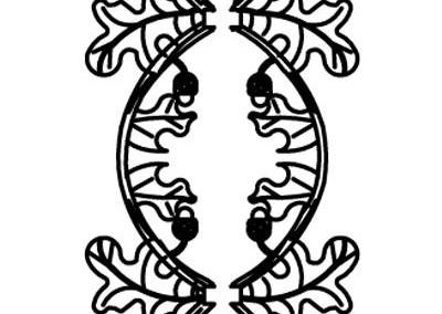 Oak Scroll