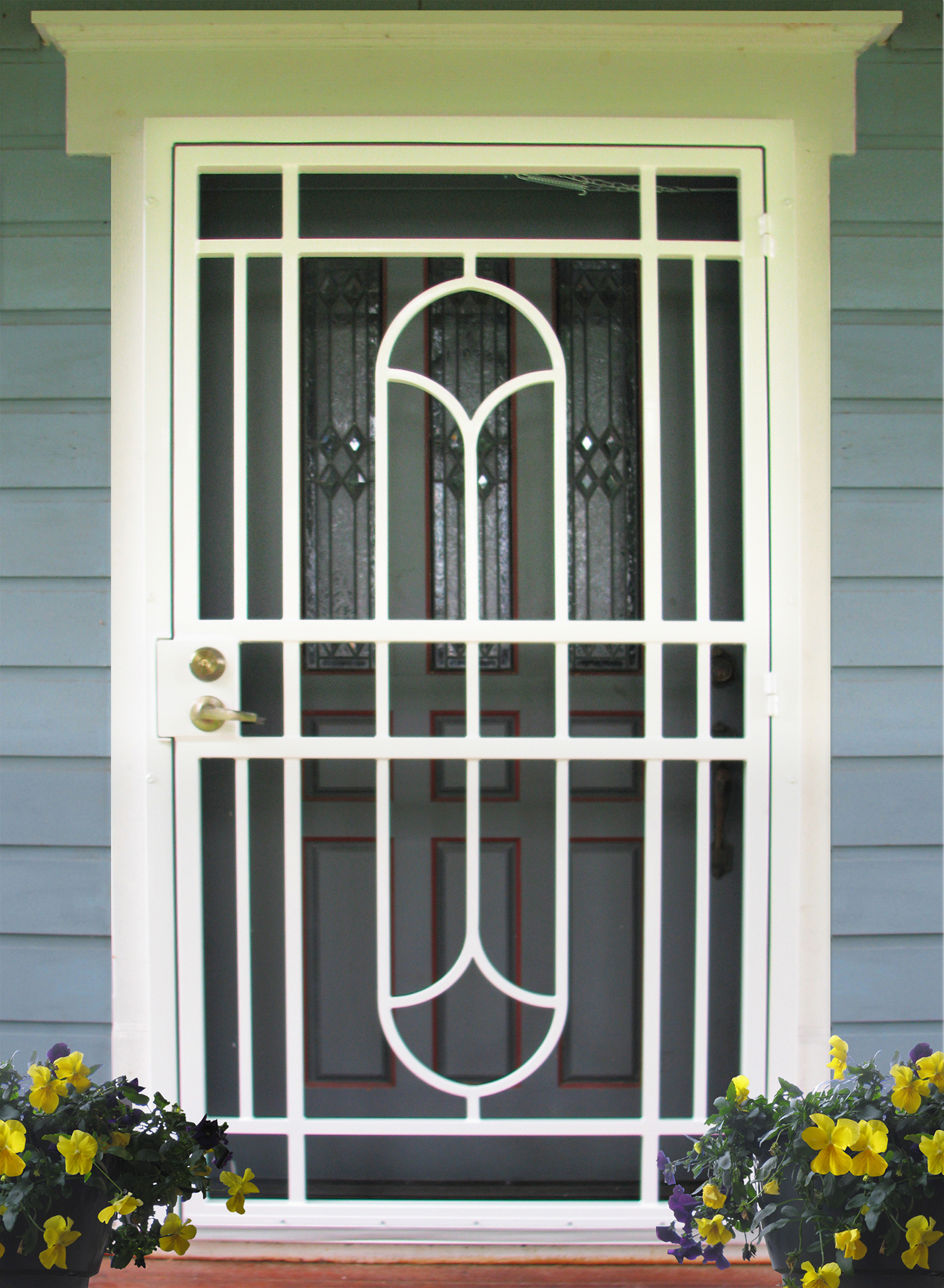 Door And Scroll Designs