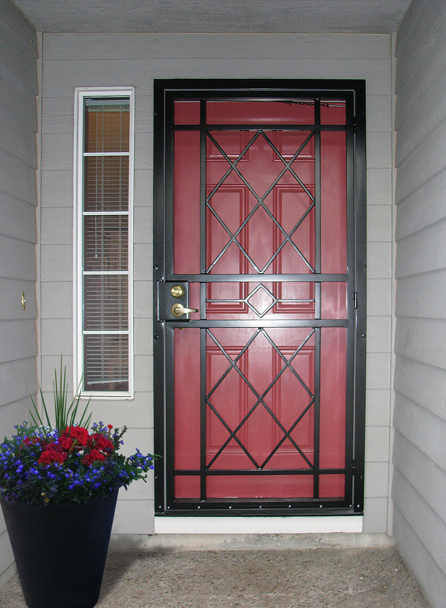 Gallery two craftsman series doors mascotte security for Craftsman french doors