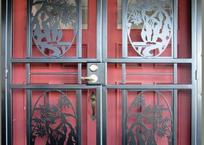 security-door-custom-craftsman-series-cat-black-2