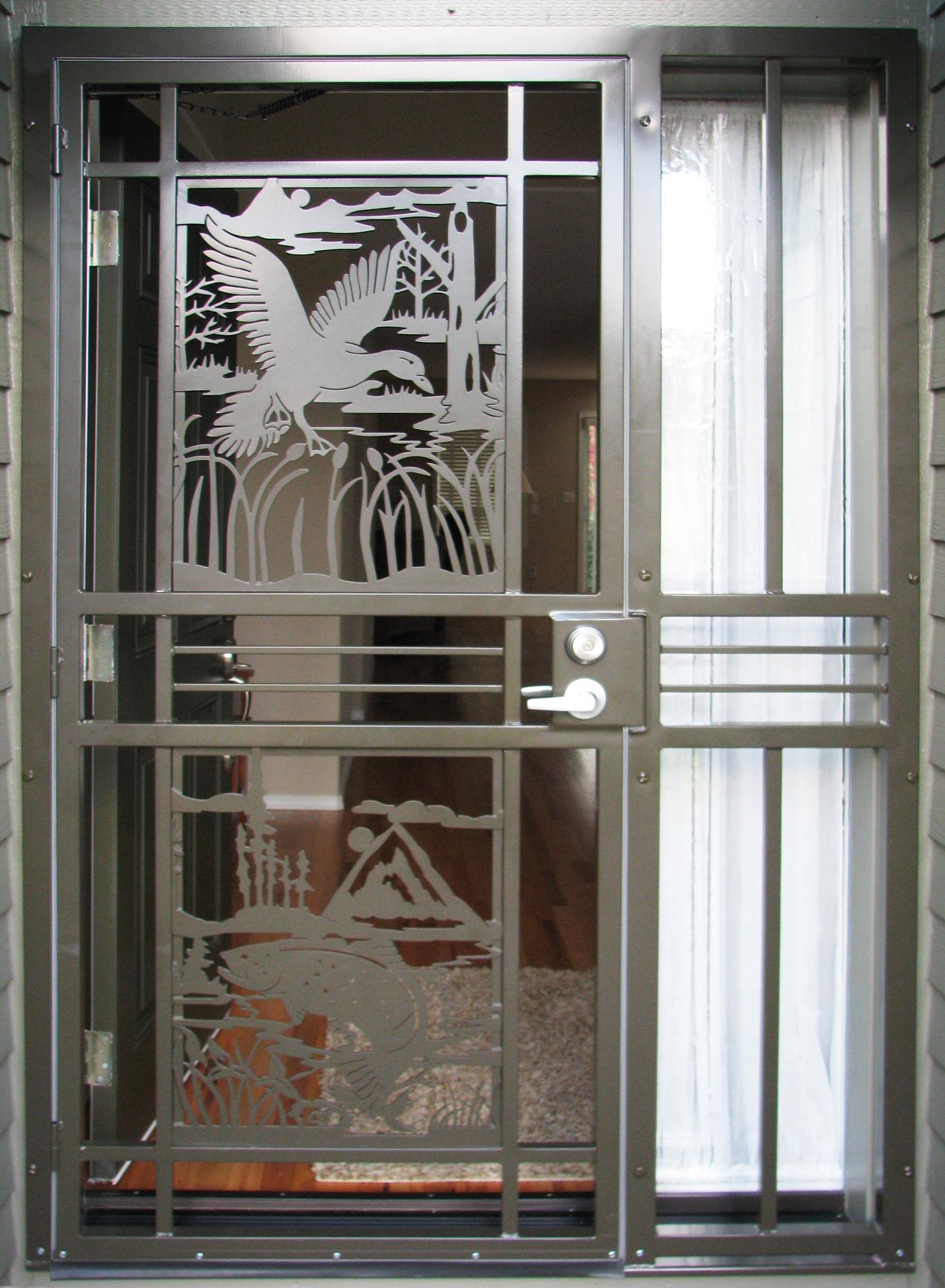 Screen Security Doors