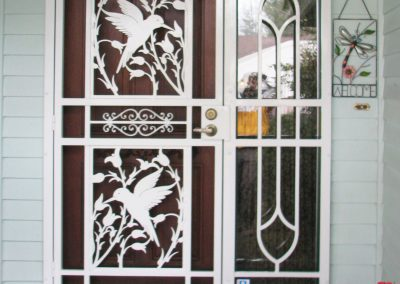 security-door-custom-craftsman-series-hummingbird-white