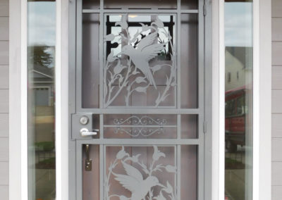 security-doors-custom-craftsman-hummingbird-grey